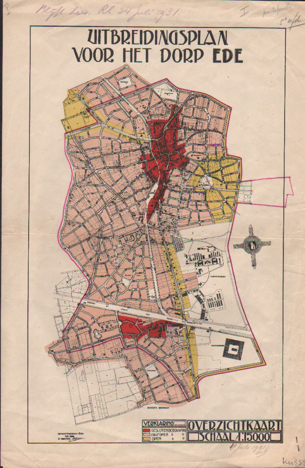 Uitbreidingsplan 1924