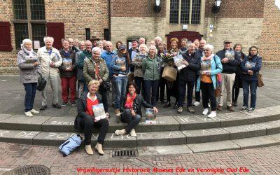 Geslaagde excursie vrijwilligers Vereniging Oud Ede en Historisch Museum Ede.